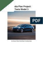 media plan project - tesla model 3
