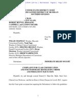 MDOC sued for handling of coronavirus