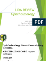 Ophthalmology Clerks Revalida Review 2017