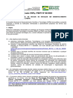 Chamada PIBITI 2020-2021  vers¿o final