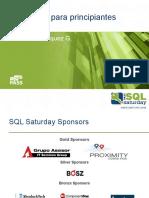 SQL Azure para principiantes SQL Saturday