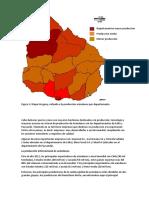 Mapa Arandanos Uruguay