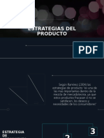 ESTRATEGIAS DEL PRODUCTO