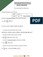 Devoir Corrigé de Synthèse N°2 Avec correction- Physique la concentration + la solubilité + mouvement et vitesse - 1ère AS  (2012-2013) Mr Ben Abdeljelil Sami