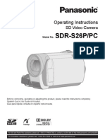 Panasonic SDRS26 MUL