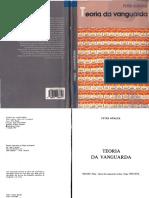 BÜRGER, Peter. Teoria da vanguarda.pdf