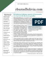 Hidrocarburos Bolivia Informe Semanal Del 20 Al 26 Diciembre 2010