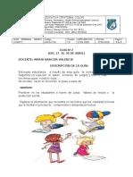 INSTITUCION EDUCATIVA CRISTOBAL COLÓN      INSTRUCCIONES SEMANA 27 DE ABRIL (1)