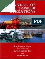 MANUAL OF OIL TANKER OPERATIONS