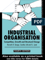 11. Industrial Organisation