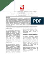 Informe Corrosión Intergranular Final