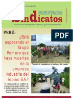 Magazine SINDICATOS Nº 1 web