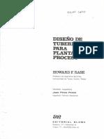 DISEÑO DE TUBERIAS PARA PLANTAS DE PROCESO (HOWARD F. RASE)