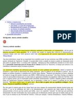 Ciencia y método científico. Profesor Rafael Barzanallana. Universidad de Murcia