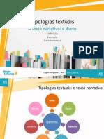 O_texto_narrativo__o_diário.ppt