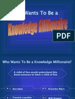 Knowledge Millionaire