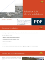 Concept Document for Solar Ballast