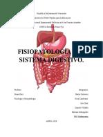 FISIOPATOLOGIA DL SISTEMA DIGESTIVO