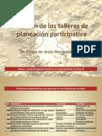 Función de los talleres de acción participativa. Dr. Felipe de Jesús Moreno Galván.pdf