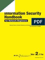 NISC Information Security Handbook for Network Beginners