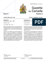 Federal government firearms regulatory changes, May 1, 2020
