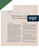 John Horgan-Orientaciones y Requisitos Para Los Investigadores policiales.