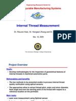 Internal Thread Measurement