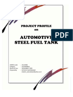 Steel Fuel Tank Project Profile