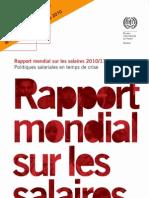 Rapport Mondial Sur Les Salaires 2010_2011