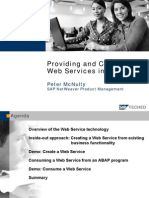 ABAP - Web Service - Providing and Consuming
