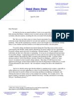 Durbin Letter