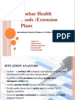 Ambar Health Foods Case Study