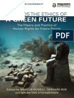 Towards the Ethics of a Green Future