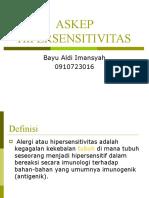 ASKEP HIPERSENSITIVITAS Bayu