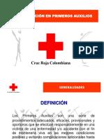 ACTUALIZACIÓN PRIMEROS AUXILIOS