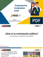 Actos Preparatorios de los Procedimientos de Contratación Directa