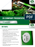 2G ENERGY - CORPORATE PRESENTATION