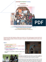 Humanist Leadership Traning 17-20 Nov