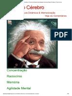 Memorização, Leitura Dinâmica, Técnicas de Estudo, Aprendizagem Acelerada _ Blog do Professor Flávio Pereira