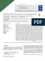 Ablandamiento electroquímico del agua de la llave un enfoque de cero aportes químicos..pdf