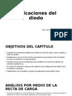 Aplicaciones Del Diodo. CAPITULO 2