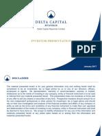 Delta Capital_Investor Presentation_2017-01-16_v3