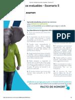 Examen_ Actividad de puntos evaluables - Escenario 5