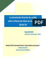 belkahia LA COMMUNICATION FINANCIERE DES SOCIETES COTEES A LA BOURSE DES VALEURS DE CASABLANCA - ETAT DE L'ART.pdf