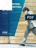 KPMG Accounting and Auditing Update October 2010