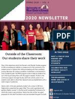 Spring 2020 Newsletter Vol 4