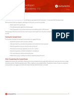 Associate Web Developer 11 Sample Test - Certification