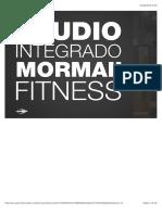 Apresentação - Studio Integrado Mormaii Fitness