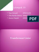 Transformasi Linier Kul 1 Web 2