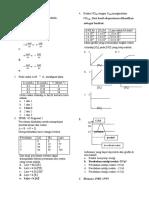 Soal Pre Tes Laju Reaksi Kimia SMA Kelas a (Kel 5A Yuli Andrianto Dkk, Komentar Liana)